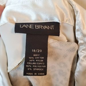 Lane Bryant Tops - Lane Bryant Leopard Cheetah Button Career Blouse